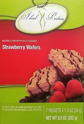 Ideal Protein Strawberry Flavored Wafers