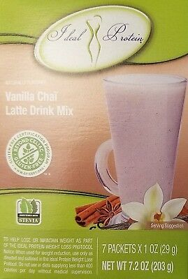 Ideal Protein Vanilla Chai Latte Drink Mix