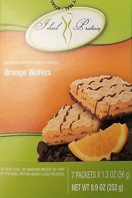 Ideal Protein Orange Flavored Wafers