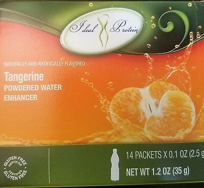 Ideal Protein Tangerine Powedered Water Enhancer