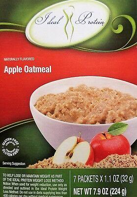 Ideal Protein Apple Flavored Oatmeal Mix