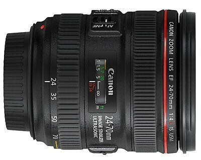 Canon EF 24-70mm f/4L IS USM Zoom Lens New White-Box