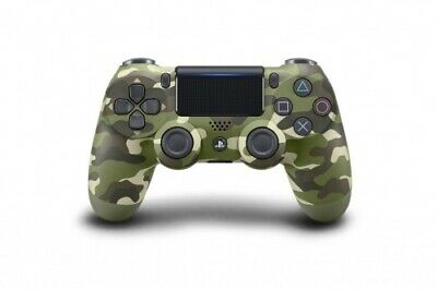 Controller Wireless Dual Shock 4 - Green Camouflage PS4 (Original Sony)