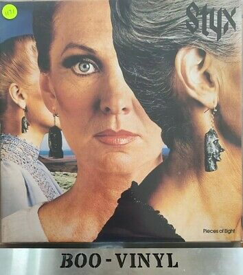 Pieces of Eight by Styx - Vinyl LP 1978 - Excellent Condition