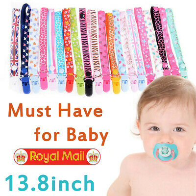 Beautiful Dummy Clip Baby Soother Clips Chain Holder Pacifier Strap More Designs