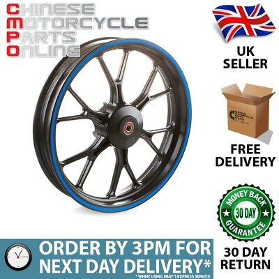 Black & Blue Motorcycle Wheel (Front) for UM (MFW067)