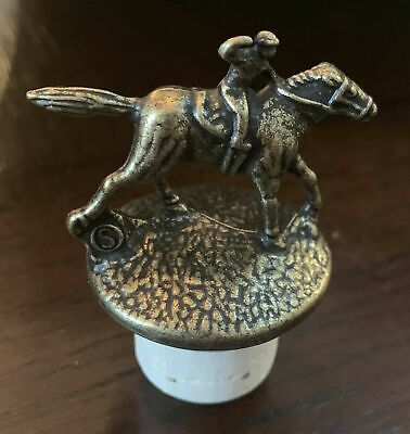 *Letter S NEW Blanton's Single Barrel Bourbon Cork Horse Stopper RARE