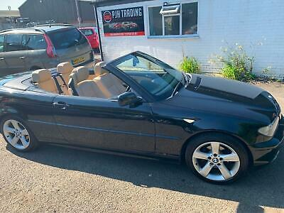 Bmw 318 318Ci Se Convertible Automatic 04 Reg In Black With Beige Leather
