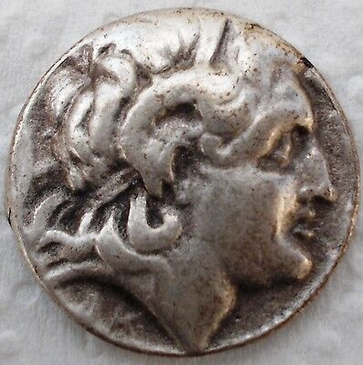 ANCIENT AND MEDIEVAL SILVER GREEK COIN - 288 BC Thrace Lysimachus Tetradrachm