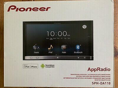 Pioneer SPH-DA110 Double Din Head Unit Stereo