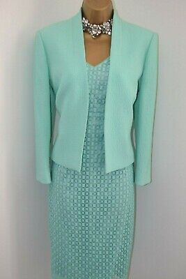 ~ DAMSEL IN A DRESS ~ Dress & Jacket Size 14 Suit Mother of the Bride Outfit