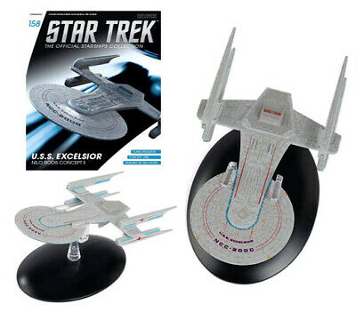 Star Trek Starships USS Excelsior Nilo Collection #158 Magazine & Part