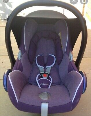 Maxi Cosi Cabrio Fix Replacable Cover Violet Purple/ Grape