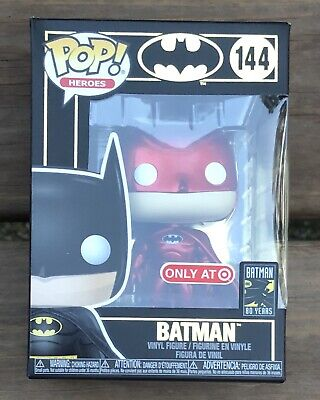 FUNKO POP DC BATMAN RED SUIT TARGET RED CARD EXCLUSIVE preorder see desc