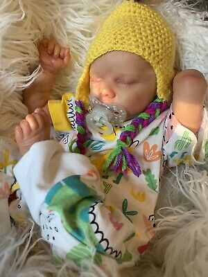 Beautiful Reborn Baby Girl *Twin A By Bonnie Brown* Pre-loved Amazing Details!