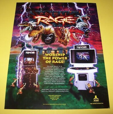 Midway TOUCHMASTER INFINITY arcade video game flyer nice color original--2 sides