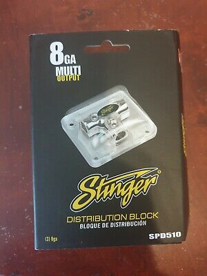 Stinger SPD510 Distribution Block 8 Ga Multipoint