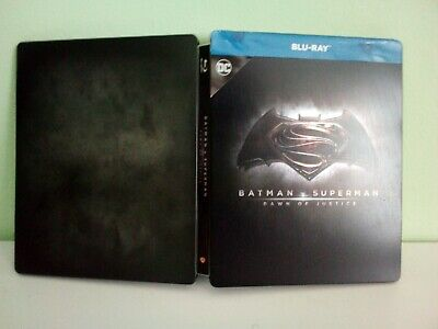 Steelbook Batman V Superman Blu Ray Edizione Italiana