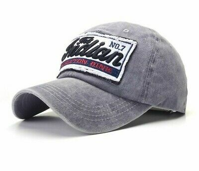 Embroidery Baseball Cap Fitted Casual Hip-Hop Snapback Hats Outdoor Fashion Caps