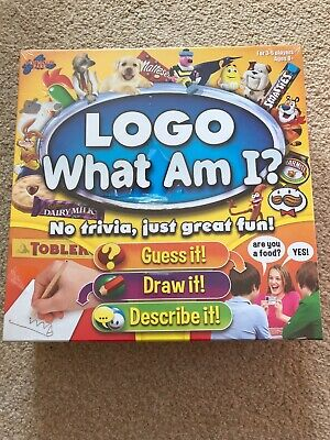 Logo What Am I? Board Game - BRAND NEW