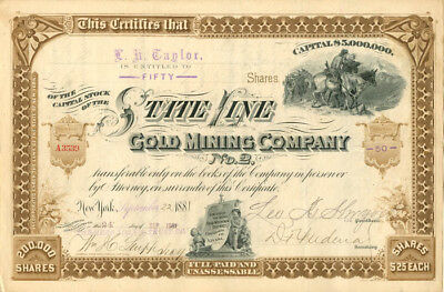 State Line Gold Mining Company No. 2