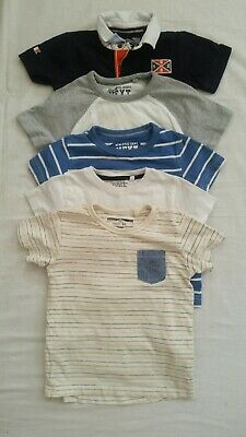 Beautiful selection of NEXT Baby Boy short Sleeve T-shirt clothe bundle 18-24m