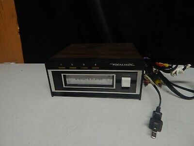 REALISTIC vintage stereo 8 track deck portable player 14-935 TR-169