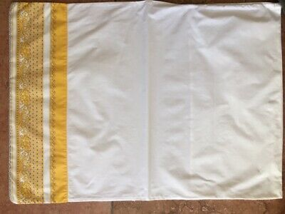 Pair of Vintage Gianni Versace Standard Pillow Cases (Rarely Used Condition)