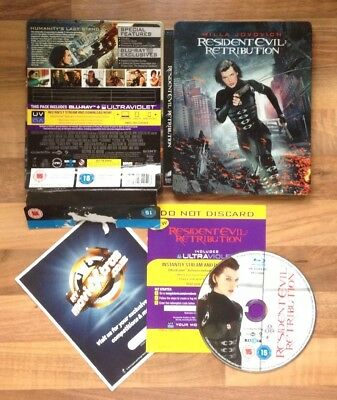 Resident Evil: Retribution - Limited Edition Bluray Steelbook & Outer Sleeve