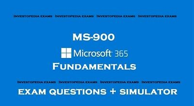 MS-900 MS 365 Fundamentals Exam dumps questions answers and simulator