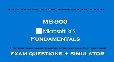 MS-900 Microsoft 365 Fundamentals Exam questions answers and simulator