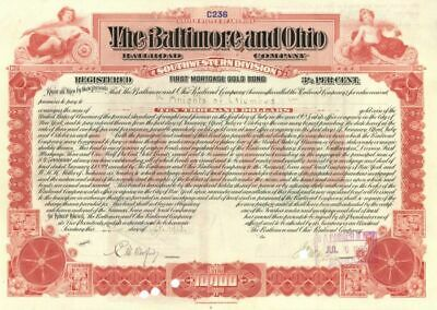 Baltimore and Ohio Railroad Company Issued to Knights of Columbus