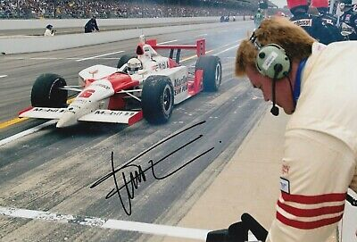 Gil de Ferran Hand Signed 12x8 Photo - Indy 500 Autograph 1.
