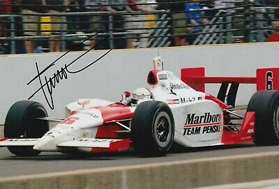 Gil de Ferran Hand Signed 12x8 Photo - Indy 500 Autograph 2.