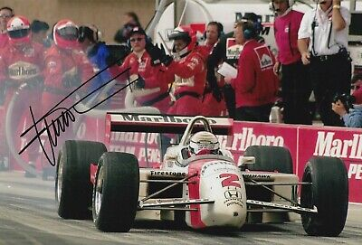 Gil de Ferran Hand Signed 12x8 Photo - Indy 500 Autograph 4.