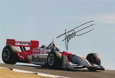 Gil de Ferran Hand Signed 12x8 Photo - Indy 500 Autograph 8.