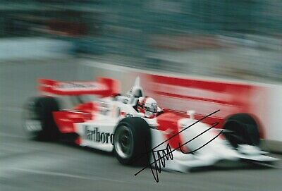 Gil de Ferran Hand Signed 12x8 Photo - Indy 500 Autograph 11.