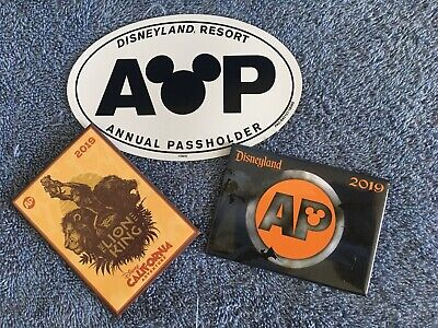 🎃Disney Parks Annual Pass Holder Halloween 2019 Button 🎃 **Ships Fast**