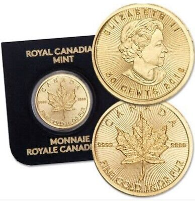 1 gram Royal Canadian Mint gold coin