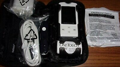 ONE TOUCH VERIO IQ BLOOD GLUCOSE METER - Lightly used