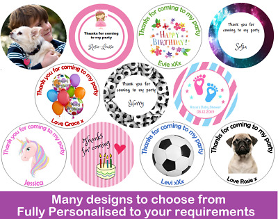 48 Personalised Edible Cup Cake Toppers - Rice Paper Wafer Photo Fairy PRE-CUT