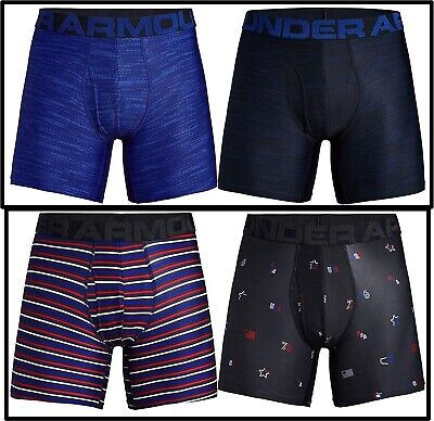 New Under Armour Men's 6inch Novelty Boxer Jock 2 Pack Choose Size and Color