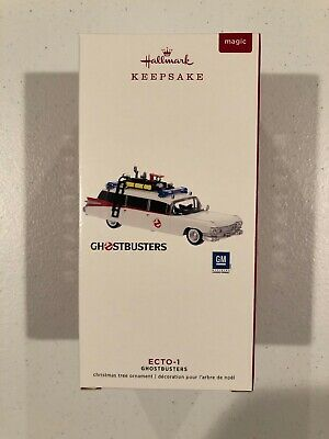 2019 Hallmark Ornament GHOSTBUSTERS ECTO-1 With Light and Sound
