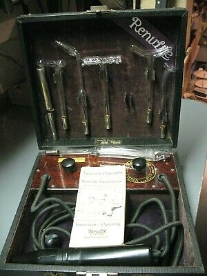 Antique Renulife   Quack  Medical Apparatus   Violet  Ray  Cure All 1919