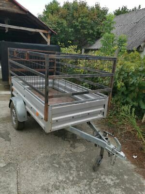 Stema HP6070 750kg Trailer - for sale - Built or dismantled   with extra walls