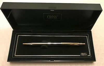 Cross Medalist Ballpoint Pen Silver Tone And 23kt Gold PlatIng
