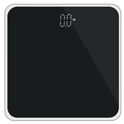 400lb LCD Digital Bathroom Body Weight Scale Protective Glass High Load Capacity