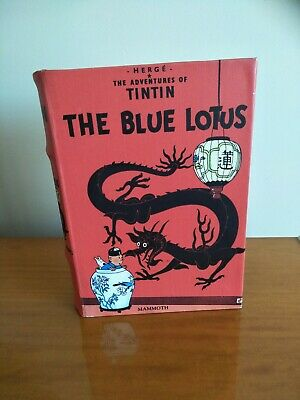 Herge THE BLUE LOTUS The Adventures Of TINTIN Storage Box