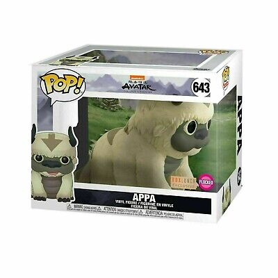 Funko Pop Animation #643 Flocked Appa Avatar Last Airbender Box Lunch