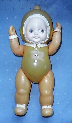 Large Vintage Japanesae Celluloid Snow Baby Doll (30 cms tall)